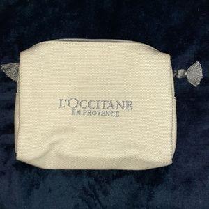 L'Occitane makeup bag